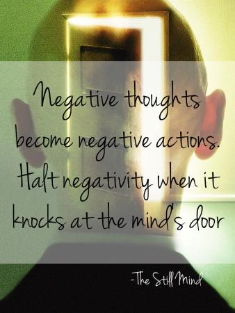 Halt Negativity